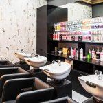 Innenansicht eines Salons, Friseur, Beauty
