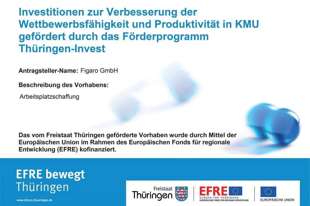 Figaro GmbH – EFRE Thüringen